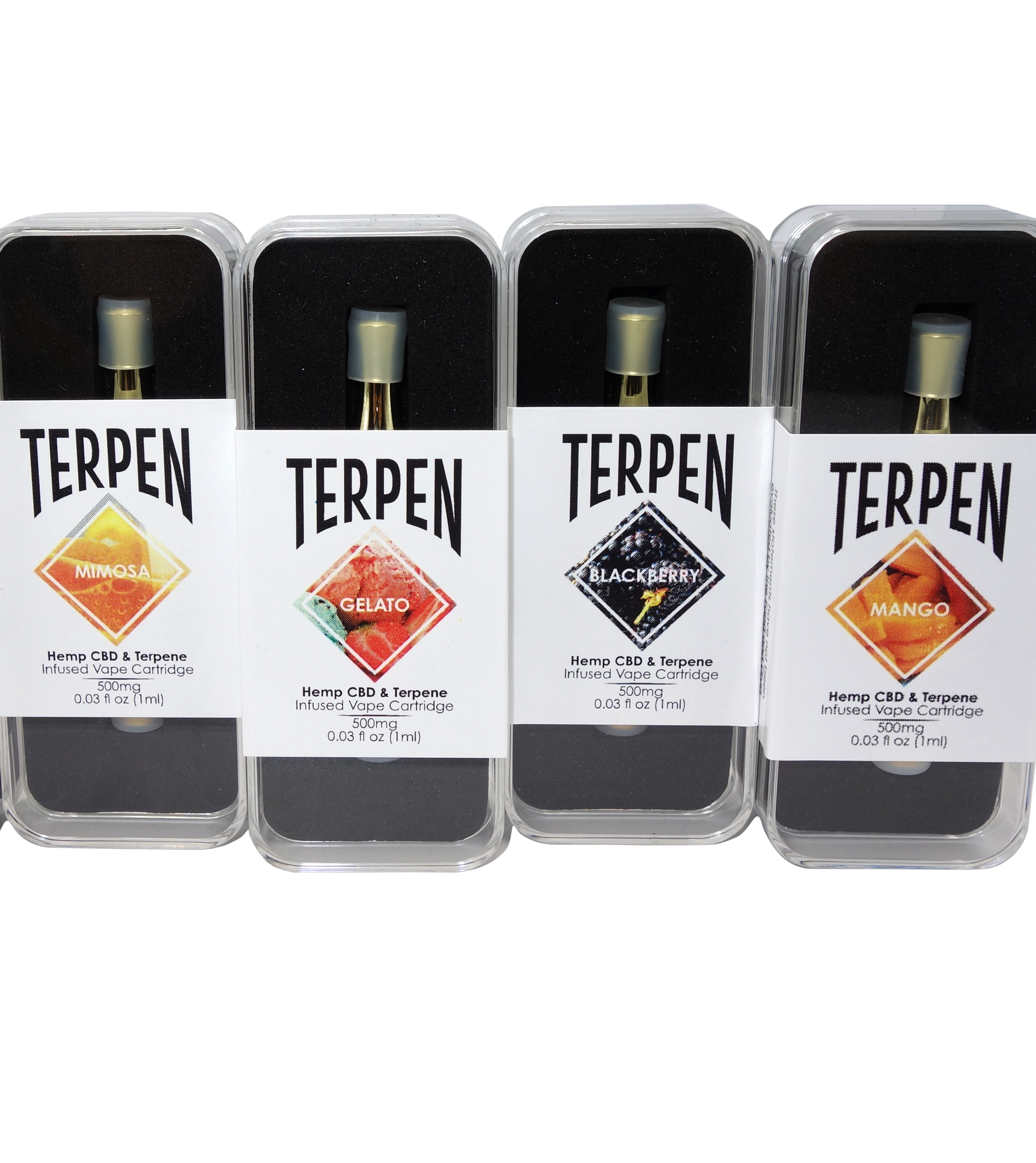 Terpen Isolate Vape Cartridges